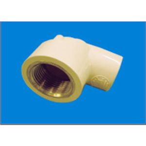 PRINCE CPVC FITTINGS - FEMALE THREADED ELBOW (BRASS), 1 1/4  32mm