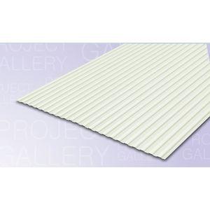TATA DURASHINE LINER STEEL SHEETS: - ASIAN WHITE - THICKNESS 0.47MM x WIDTH 1155MM (3.85FEET), 14feet 4270mm