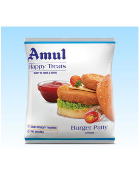 Amul Happy Treats VegBurgerPatty 30x360g