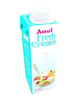 Amul Fresh Cream 200 Ml TP