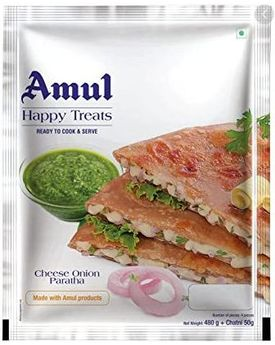 Amul Cheese Onion Paratha 24x500gm