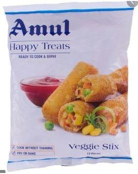 Amul Happy Treats Veggie Stix 26x425g