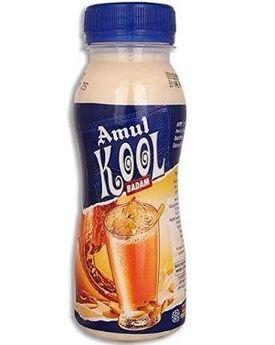 Amul Kool Kesar Fl Milk 200 Ml PT Btl
