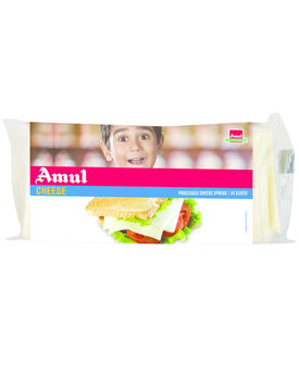 Amul Processed Cheese Slices 50x15 Gm