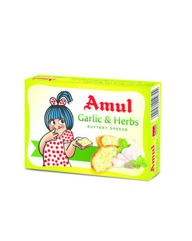 Amul Buttery Spread Garlic&Herb 100g