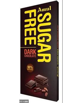 Amul SugarFree Dark Chocolate 150g