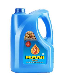 RANI GOLD GROUNDNUT OIL 5LTR JAR