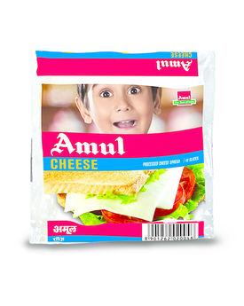 Amul Cheese Slice on Slice 10x15 gm