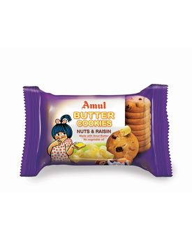 AMUL NUTS & RAISIN COOKIES 50 Gm