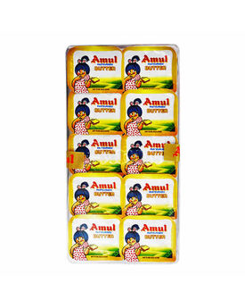 Amul Butter School Pack 10x10 Gm