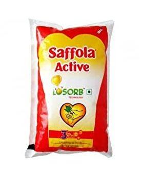 SAFFOLA ACTIVE LOSORB VEG OIL 1 LTR POUCH