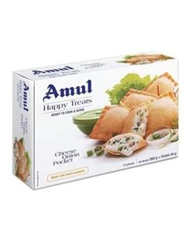 Amul Cheese Onion Samosa Pocket 24x360gm
