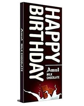 Amul Milk Chocolate 40x150g - HBD pack