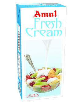 Amul Fresh Cream 1 Ltr TP