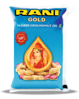 RANI GOLD GROUNDNUT OIL 1LTR POUCH