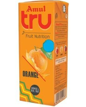 AMUL TRU Orange 27x200 ML TP
