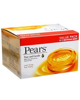 PEARS PURE & GENTLE GLYCERIN SOAP 3* 75G
