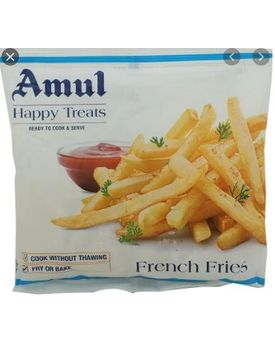 Amul Happy Treats French Fries 40x200g