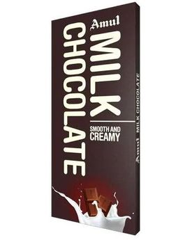 Amul Milk Chocolate 40x150g Pack