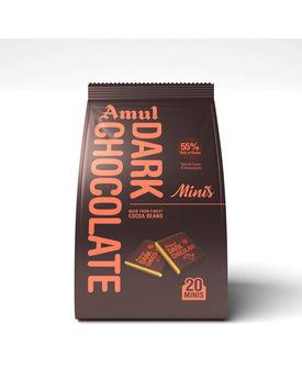 Amul Dark Minis Gable Top 250g