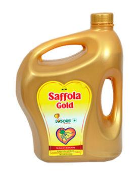 SAFFOLA GOLD LOSORB VEG OIL 5 LTR JAR