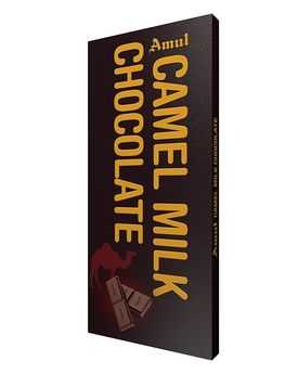 Amul Camel Milk Chocolate 150g