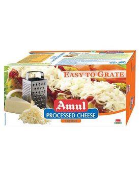 Amul Processed Cheese ETG Block 1 Kg
