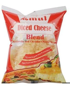 Amul Processed Blend Pizza cheese 60x200 gm