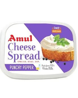 Amul Cheese Spread Pepper 200 Gm