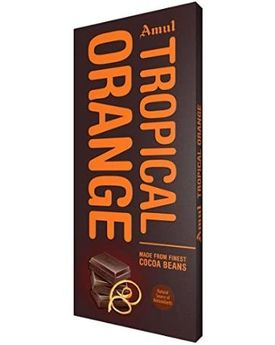 Amul Tropical Orange 150g chocolate