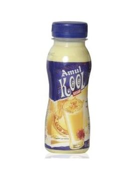 Amul Kool Badam Fl Milk 200 Ml PT Btl