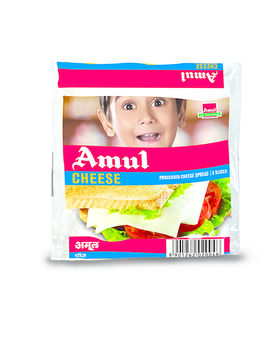 Amul Processed Cheese Slices 5x20 Gm