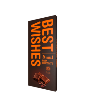 Amul Dark Chocolate 150g-Bestwishes p