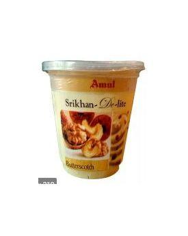 Amul Srikhan Delite Butterscotch 500 Gm