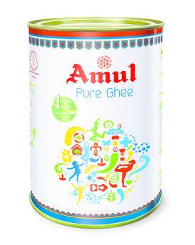 Amul Ghee 5 Lt Tin