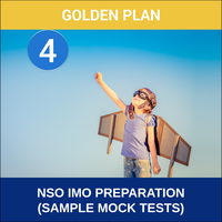 Class 4- NSO IMO Preparation ( Sample Mock Tests), platinum plan