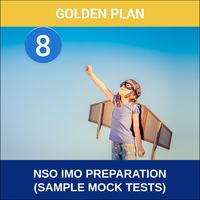 Class 8- NSO IMO Preparation ( Sample Mock Tests), platinum plan