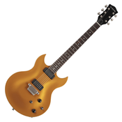 VOX, Electric Guitar, Virage 33 Double Cut-away -Gold SDC33GL