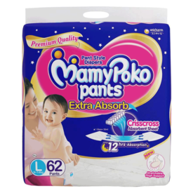 MamyPoko Pants Extra Absorb Diaper, 9 kg - 14 kg, small