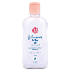 Johnson's Baby Vitamin E Oil, 200 ml