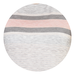 Dorothy Perkins Pastel Striped Tee, s,  grey