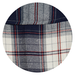 Only Checked Shirt, 34,  navy blue