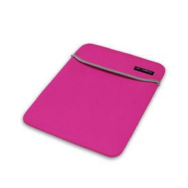 Clublaptop Standard Laptop Sleeve for 14  Laptops (Pink & Grey)