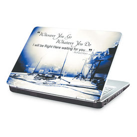 Clublaptop Wherever You Go, I Will Be Waiting For You. -CLS 188 Laptop Skin(For 15.6  Laptops)