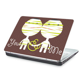 Clublaptop You & me -CLS 172 Laptop Skin(For 15.6  Laptops)