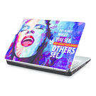 Clublaptop Art is what you make others See -CLS 155 Laptop Skin(For 15.6