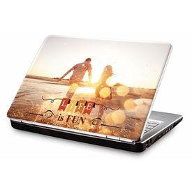 Clublaptop LSK CL 119: Life Is Fun Laptop Skin