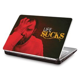 Clublaptop LSK CL 101: Life Sucks Laptop Skin
