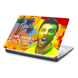 Clublaptop I Am Always Excited -CLS 170 Laptop Skin(For 15.6  Laptops)
