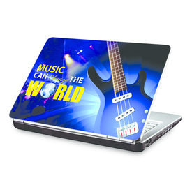Clublaptop Music Can Change The World -CLS 159 Laptop Skin(For 15.6  Laptops)